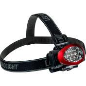 GoGreen Power, 10 LED Headlamp, GG-113-10HLRD, Red