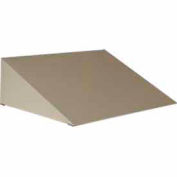 "George O'Day Slope Top For 16 1/2"""" Wide Lockers 1P17011-GO - Gray 16-1/2 x 16-1/4 x 5-1/2"