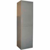 George O'Day Bulk Linen Storage Unit Locker LLBSU-GOSV - SilverVein 24-5/16 x 21-1/4 x 84-1/2