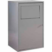 George O'Day Half High Maxi Soil Locker LLHHMAXI-GO - Gray 26 x 21-1/4 x 42-1/2