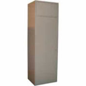 George O'Day Maxi Soil Locker LLMCSD-GO - Gray 24-5/16 x 21-1/4 x 84-1/2