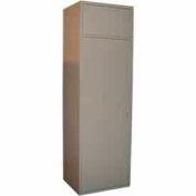 George O'Day Maxi Soil Locker LLMCSD-GOSV - SilverVein 24-5/16 x 21-1/4 x 84-1/2