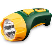 Power By GoGreen GG-113-04RC 4-LED Rechargeable Flashlight