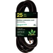 GoGreen Power, GG-13725BK, 25 Ft. 16/3 Heavy Duty Extension Cord - Black