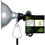 "GoGreen Power, GG-34806, 5.5"" Clamp Light - 6 Ft Cord - Brown"