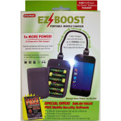 Power By GoGreen MC06AA-GR EzBoost Cell Phone Charger w/ 6 AA Batteries
