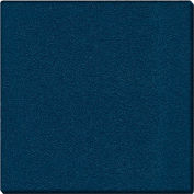 "Ghent® Vinyl Bulletin Board with Wrapped Edge, 48-5/8""W x 48-5/8""H, Navy"