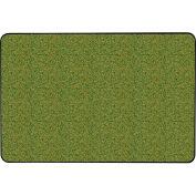 "Ghent® Gemini Natural Cork Bulletin Board, Vinyl Frame, 24""W x 18""H, Green"