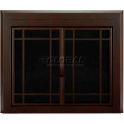 "Pleasant Hearth Enfield Fireplace Glass Door Burnished Bronze EN-5501 37-1/2""L x 33""H"