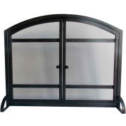 Pleasant Hearth Harper Fireplace Screen with Doors FA338S