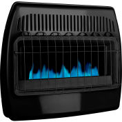Dyna-Glo LP/NG Dual Fuel Blue Flame Vent Free Thermostatic Garage Heater GBF30DTDG-2 - 30,000 BTU