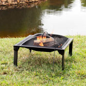Pleasant Hearth Grab 'N Go Fire Pit OFW223SFN-1 Square 26""