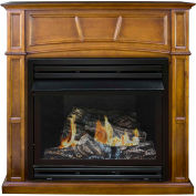 Pleasant Hearth Vent-Free Dual Fuel Gas Fireplace VFF-PH32DR-H Heritage Full Size