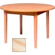 "Georgia Chair Round Laminate Top Juvenile Table 36""W X 36""D X 25""H, Natural Finish"
