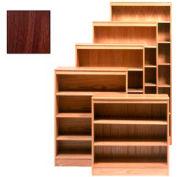 "Bookcase With 2 Adj. Shelves 36""W X 12""D X 42""H, Walnut Finish"