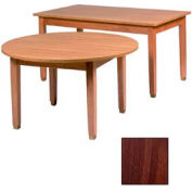 """Library Table, Laminate Top 36""""W X 60""""D X 29""""H, Walnut Finish"""
