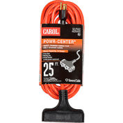 Carol 00691.63.04 25' Outdoor Powr-Center ® Extension Cord, 14awg 15a/125v - Orange