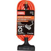 Carol 00691.63.04 25' Outdoor Powr-Center ® Extension Cord, 14awg 15a/125v - Orange
