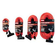 Carol 00694.63.04 10' Outdoor Powr-Center ® Extension Cord, 12awg 15a/125v -Orange - Pkg Qty 12