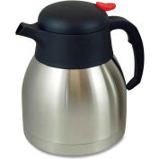 Genuine Joe GJO11955 - Carafe, Double Wall, Vacuum, Everyday, 1.0L, Stainless Steel