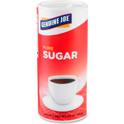 Genuine Joe Pure Cane Sugar, 20 Oz., 3/Pack