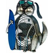 """Deco Breeze® Duke Figurine Fan, Metal, 9-7/8""""L x 5-1/2""""W x 11-3/4""""H - DBF3061"""