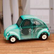 """Deco Breeze® Euro Car Figurine Fan, Metal, 13-3/8""""L x 4-3/4""""W x 7""""H - DBF3172"""