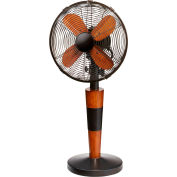 "Deco Breeze® Legacy Table Fan, Metal, 11-1/2""L x 11-1/2""W x 24-1/2""H - DOH2975"