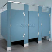 ASI Global Partitions Alcove Hardware Kit One Ear Polymer Partitions- Aluminum Stirrup