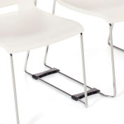 Global™ Ganging Brackets for Popcorn Series Stacking Chairs - Pack of 2