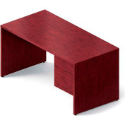 "Global™ Wood Desk - Right Pedestal - 60"" - Dark Espresso - Genoa Series"