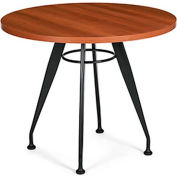 "Global™ Meeting Table - 42"" Round - Laminate - Avant Honey"