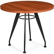 "Global™ Meeting Table - 42"" Round - Laminate - Avant Honey"