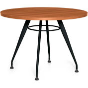 "Global™ Alba Meeting Round Table, 42""L x 42""W, Avant Honey Laminate"