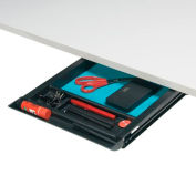 "Global™ Pencil Drawer - Black 18"" x 15"" - Genoa Series"