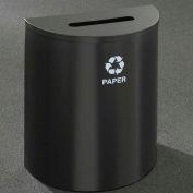 Glaro Recyclepro Half Round Gloss Brass, 29 Gallon Paper - P2499GB-GB-P