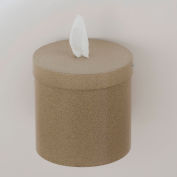 Glaro Wall Mount Sanitary Wipe Dispenser, Desert Stone - W1015-DS