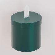 Glaro Wall Mount Sanitary Wipe Dispenser, Hunter Green - W1015-HG