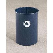 Glaro Recyclepro Single Stream Open Top Silver Metallic, 5 Gallon Recycle - RO-66