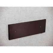 Glaro Half Round Wall Mounting Bracket Option Satin Black - WM189BK
