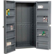 Global Industrial™ Storage Cabinet - Shelving In Doors Louver Interior 38 x 24 x 72 Assembled