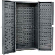 Storage Cabinet With Louver In Doors And Interior 38 x 24 x 72 Assembled