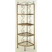 """Corner Rack - No Tips 12""""W (Burnished Copper)"""