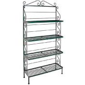 "Standard Four Shelf Rack - No Tips 30""W (Jade Teal)"