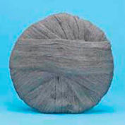 "20"" Steel Wool Pad, Grade 0, Gray, 12 Per Case"