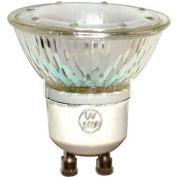 GE 16751 Halogen Bulb MR-16 GU10, 400 Lumens, 50W, 120V - Pkg Qty 5