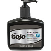 GOJO® HAND MEDIC Professional Skin Conditioner, 8 oz. Pump Bottle, 6/Carton - 8145-06