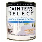 Painter's Select Urethane Fortified Satin Porch & Floor Coating, Dark Gray, Quart - 112172