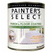 Painter's Select Urethane Fortified Semi-Gloss Porch & Floor Coating, Medium Gray, Quart - 112176