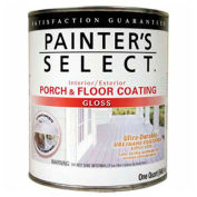 Painter's Select Urethane Fortified Gloss Porch & Floor Coating, White, Quart - 112184